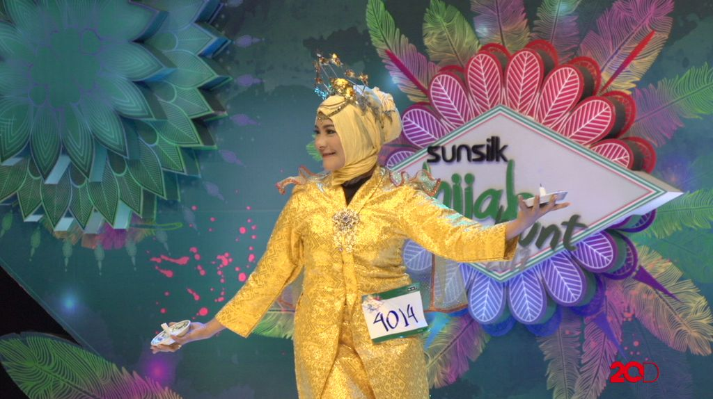 23 Besar Sunsilk Hijab Hunt 2017 Medan - Ayesha Yasintha