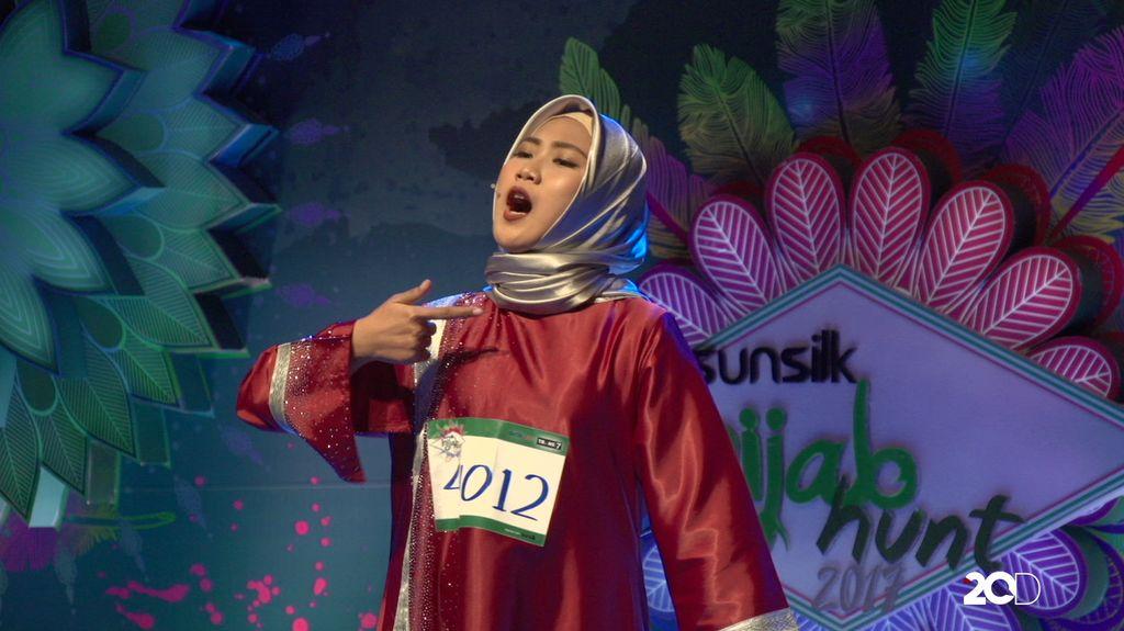 23 Besar Sunsilk Hijab Hunt 2017 Medan - Try Mayasari