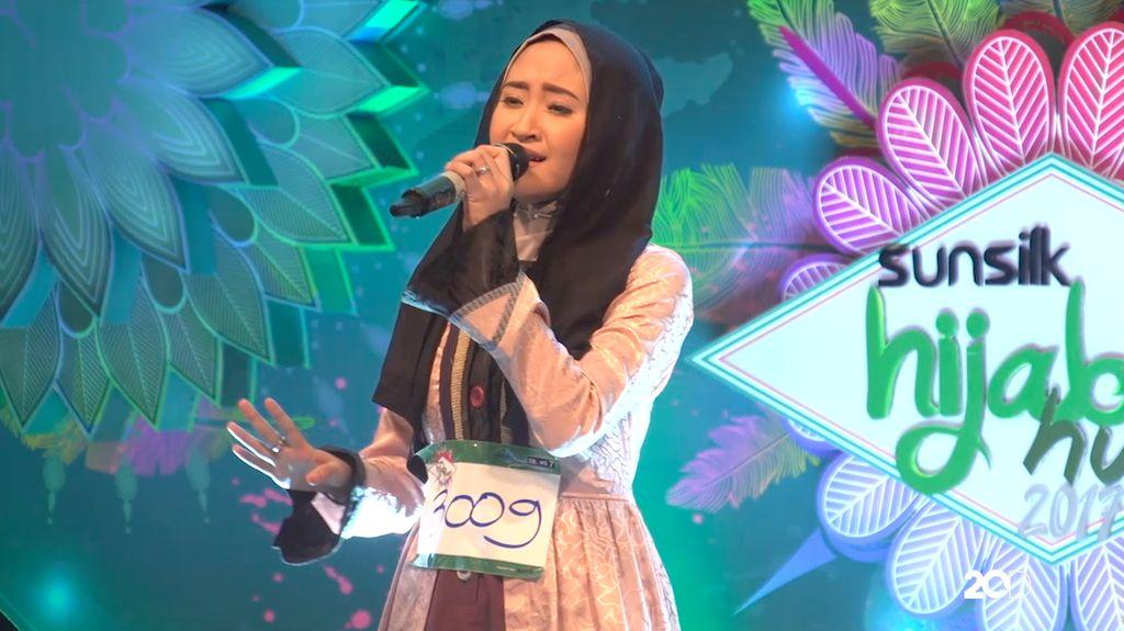 18 Besar Sunsilk Hijab Hunt 2017 Palembang - Aisyah