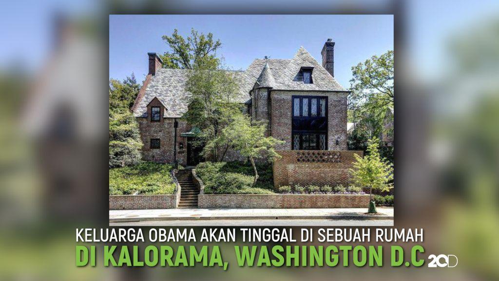 Ini Rumah Tinggal Barack Obama Setelah Tinggalkan Gedung Putih