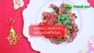 Udang Crunchy Saus Asam Pedas