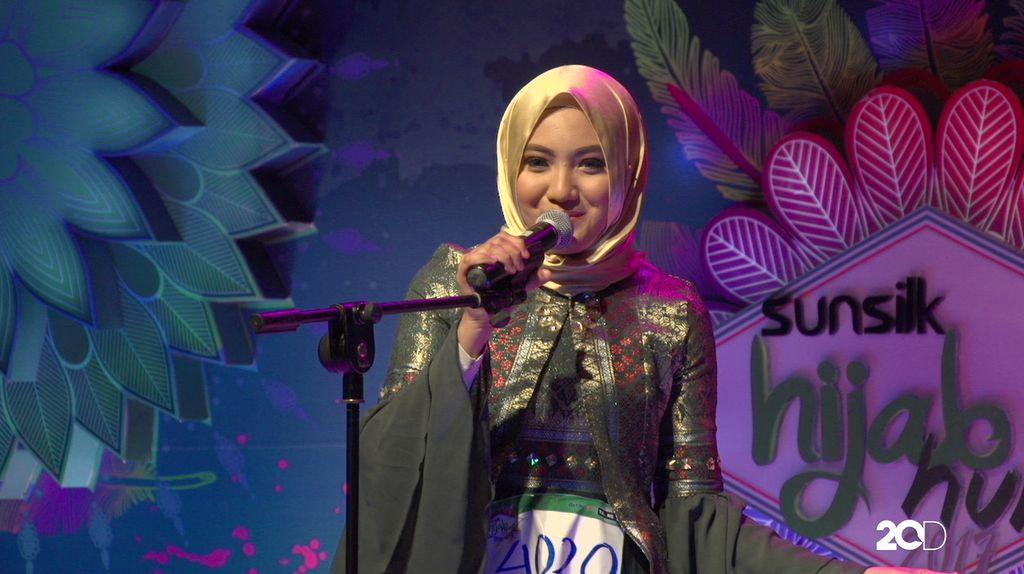 23 Besar Sunsilk Hijab Hunt 2017 Medan - Putri Ramadannia