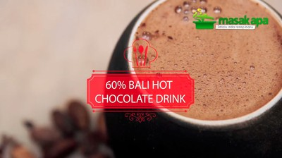 60% Bali Hot Chocolate Drink