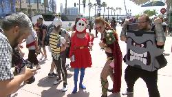 Kostum-kostum Nyentrik di San Diego Comic-Con 2017