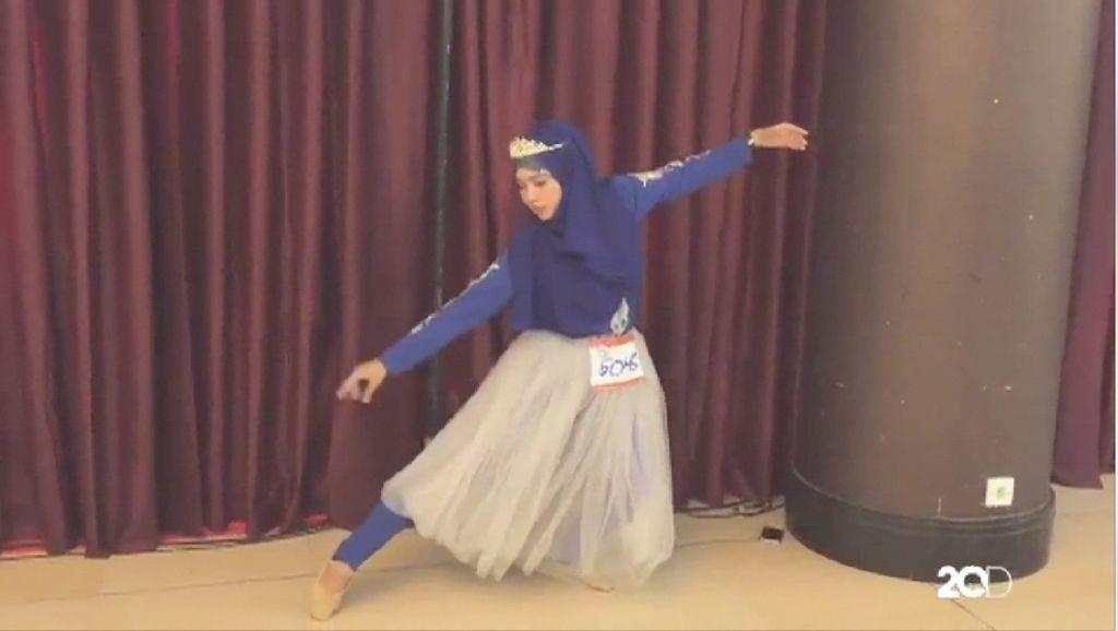 Ada Balerina Berhijab di Audisi Sunsilk Hijab Hunt 2017 Bandung