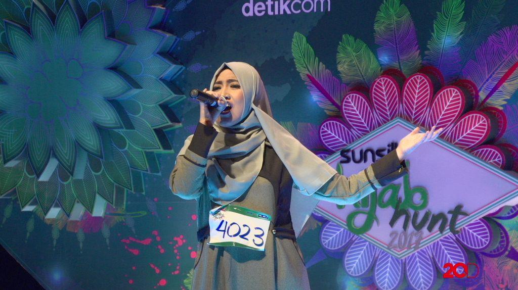 23 Besar Sunsilk Hijab Hunt 2017 Medan - Devi Pratiwi