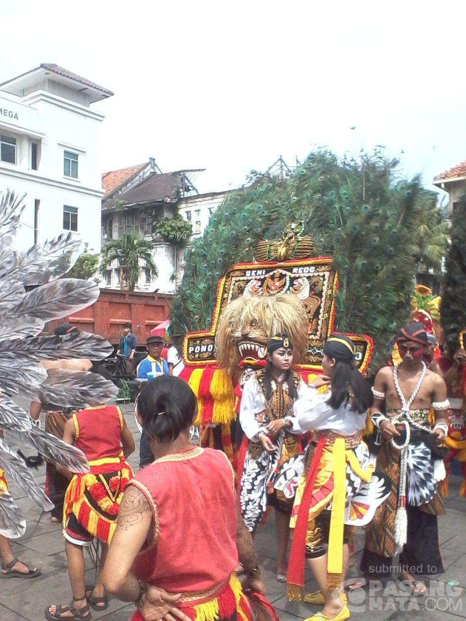 Wow, Ada Reog Ponorogo di Parade Budaya Nusantara Kota Tua • #Wisata | PasangMata