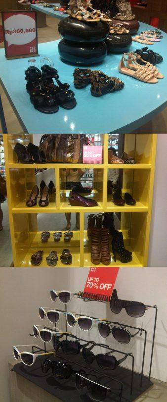 Diskon sepatu Di Pedder Red Mulai Rp 280 ribu