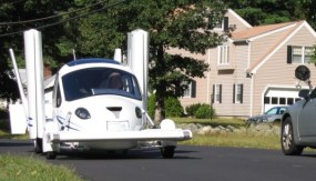 Terrafuga Transition, The flying car