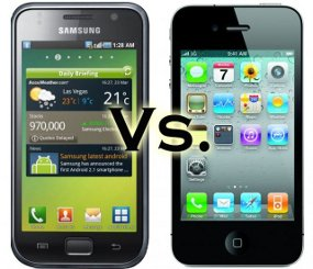 Samsung and Apple Emoticon in Patent War