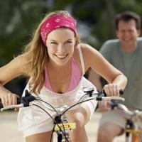 Bersepeda di Tengah Polusi Kendaraan Aman Bagi Kesehatan