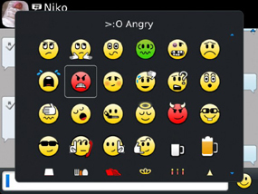 Blackberry Emoticons
