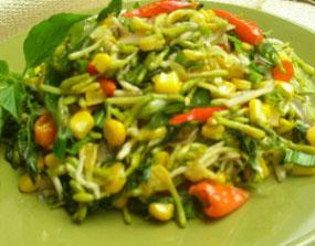 Resep Sayur: Tumis Bunga Pepaya