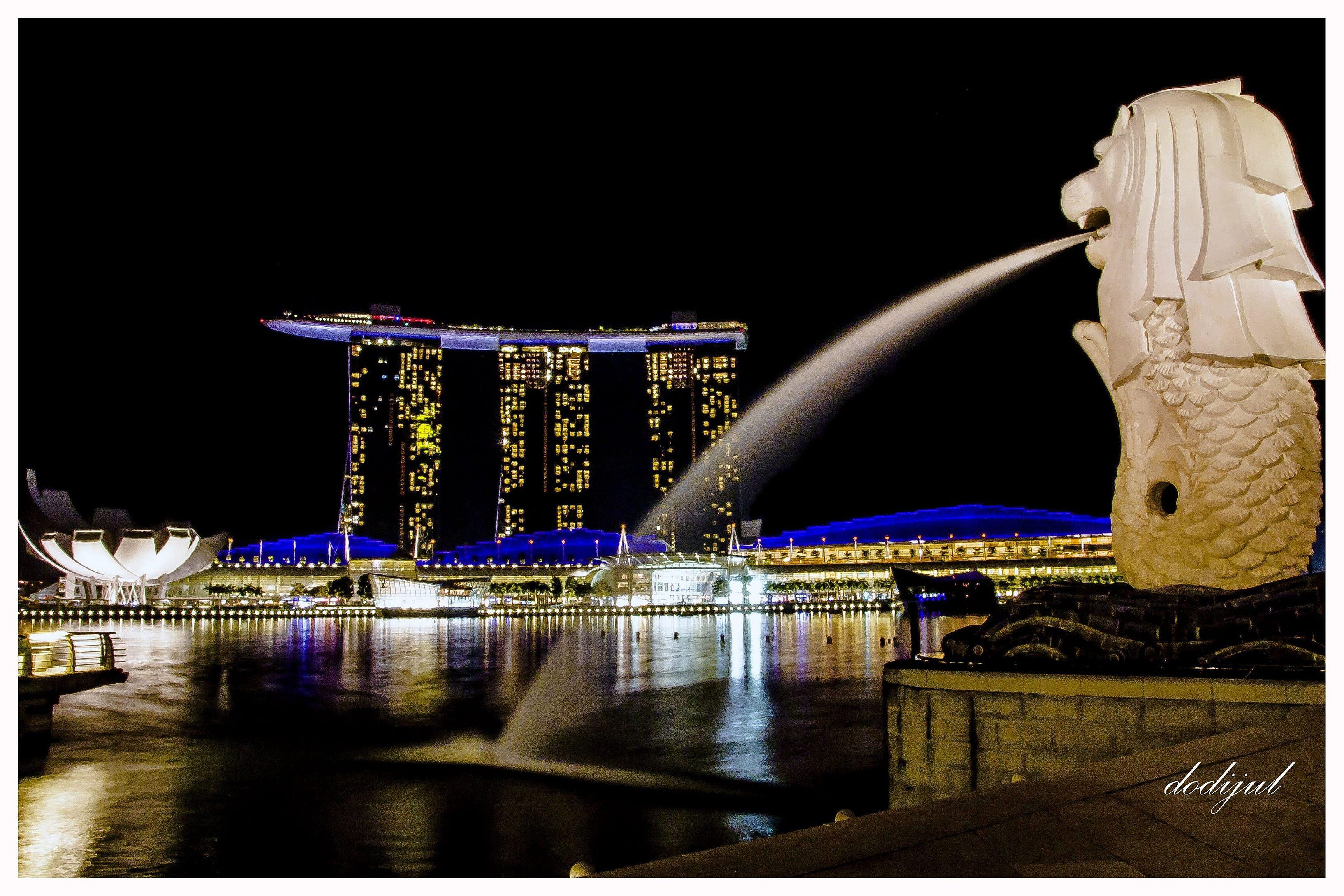 Menikmati Singapura di Malam Hari - 3