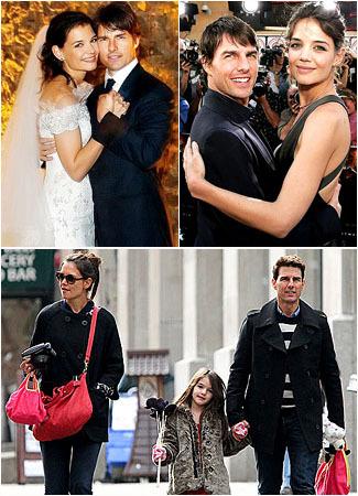 Mengenang Kemesraan Tom Cruise & Katie Holmes 1