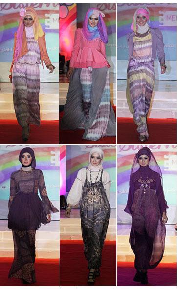 Baju Muslim Terbaru Karya Dian Pelangi Didominasi Warna Pastel