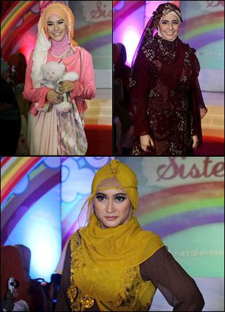 10 Gaya Selebriti Saat Memakai Hijab 1