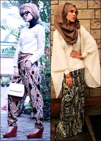 10 Inspirasi Tampilan Stylish dengan Hijab 1