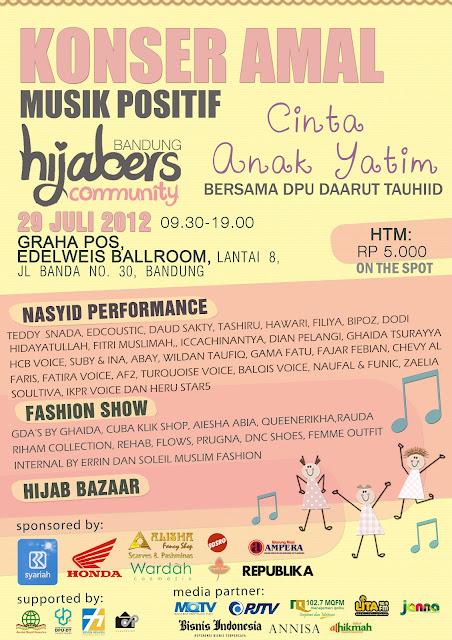 Tim Hijab Hunt 2012 Hadir di Event Hijabers Community Bandung