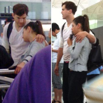 Sebelum ke Bali, Ashton Kutcher & Mila Kunis Mesra di Hong Kong