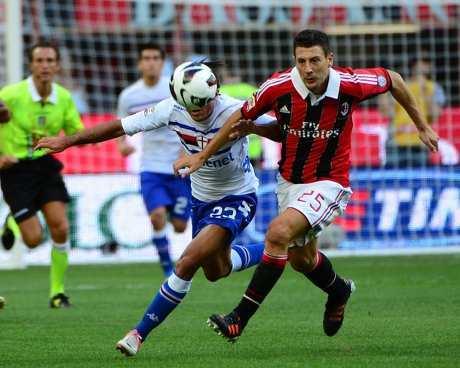 Gol Tunggal Andrea Costa Menanggi Sampdoria Atas Milan