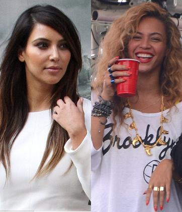 Hadiri Festival Musik Bersama, Beyonce Tak Mau Sapa Kim Kardashian