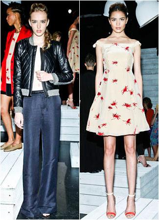 Debut Katie Holmes di New York Fashion Week 1
