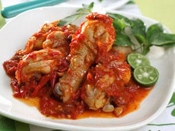 Ayam Bumbu Srepeh - Resep Indonesia