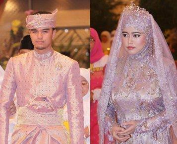 Putri Sultan Brunei Gelar Royal Wedding