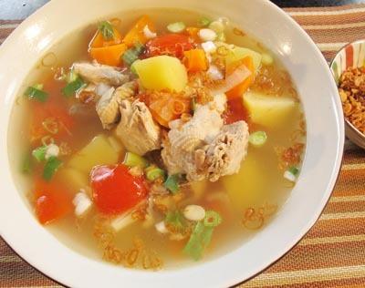 Resep Sup :Sup Ayam Kampung