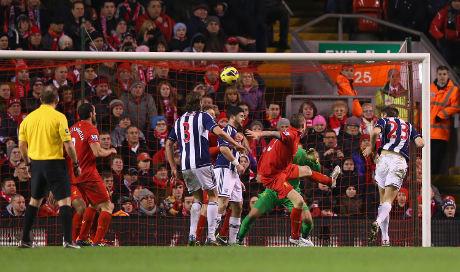 Liverpool tampil secara umum dikuasai dan membuat banyak peluang di sabung sangkar kontra West Bromw Berita Bola Dominant, Liverpool's 0-2 defeat of West Brom Even at Anfield