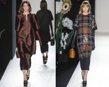 Rok Tumpuk dan Celana Jadi Tren Mulberry di London Fashion Week 2013