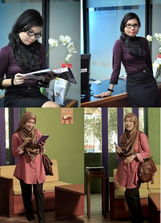 9 Pegawai Negeri Tampil Stylish di Kontes Foto Office Look 1