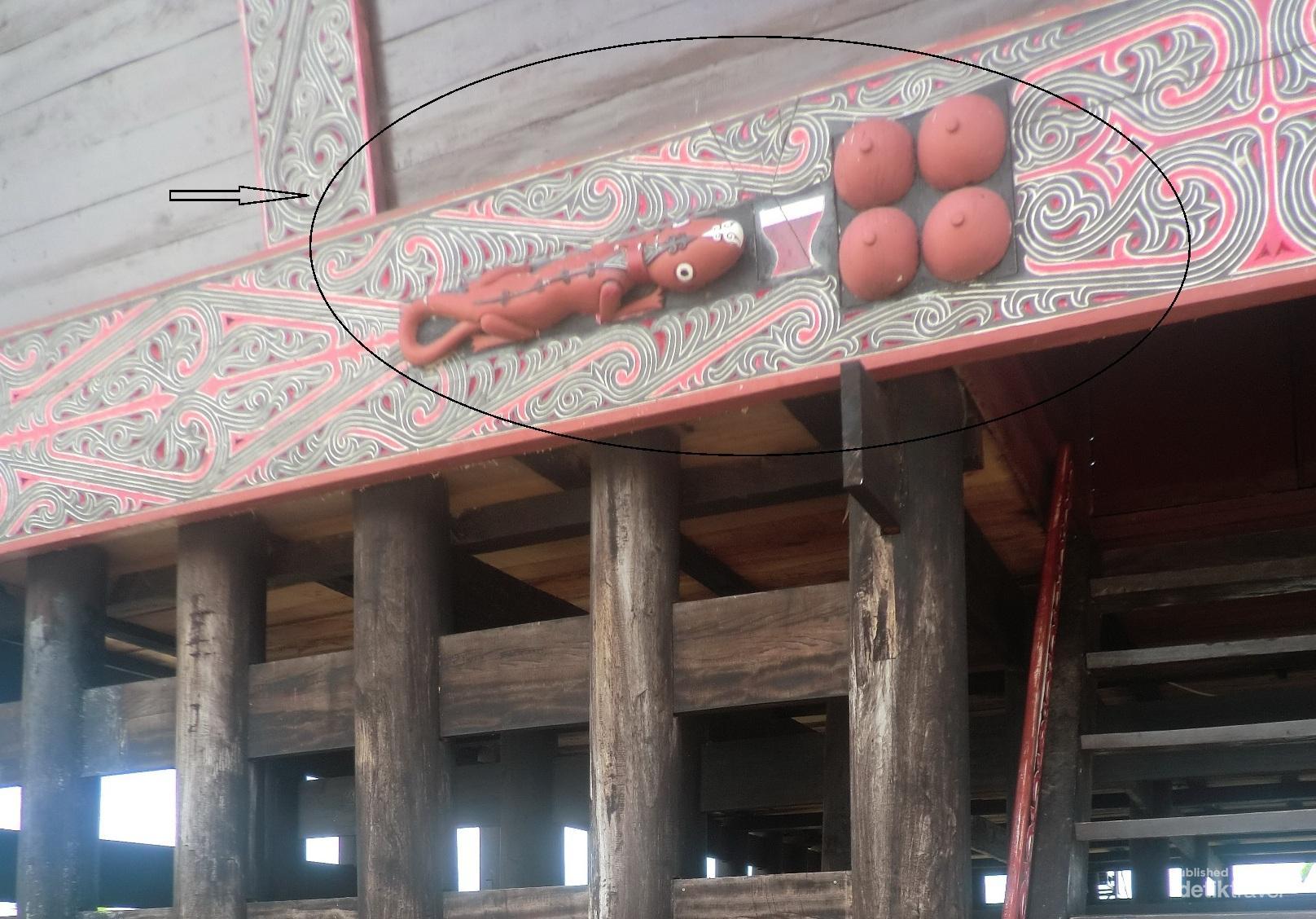 Cicak, Simbol Unik Suku Batak untuk Bertahan Hidup