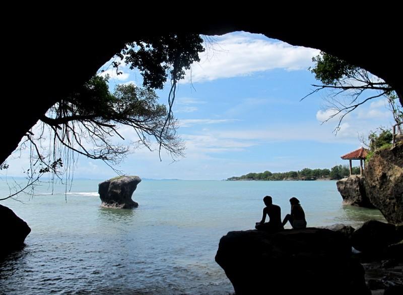 Image result for Pantai Karang Bolong