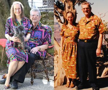 Resep Langgeng Pasangan Menikah 37 Tahun: Selalu Pakai Baju Kembar