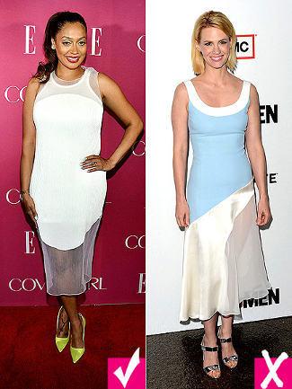 Selebriti yang Sukses dan Gagal Tampil Stylish dengan Baju Transparan 2