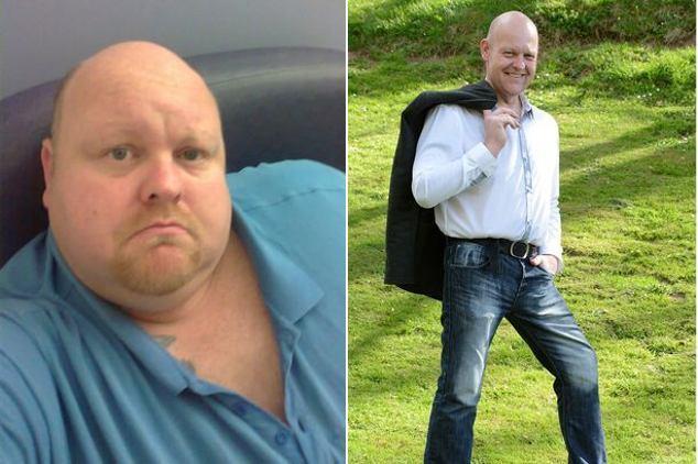 Foto-foto Before After, Pendiet yang Sukses Turunkan Bobot Hingga 100 Kg