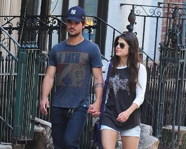 Taylor Lautner Pacaran dengan Aktris Berusia 6 Tahun Lebih Tua