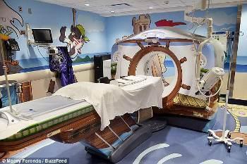 Mengintip CT Scan Bertema Bajak Laut Khusus untuk Anak