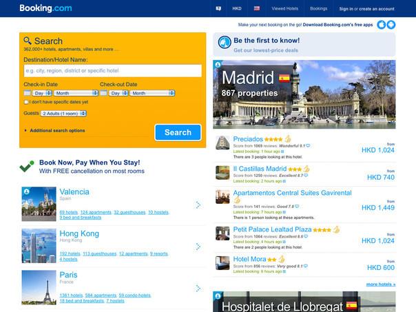 ini 10 situs booking travel paling populer sedunia