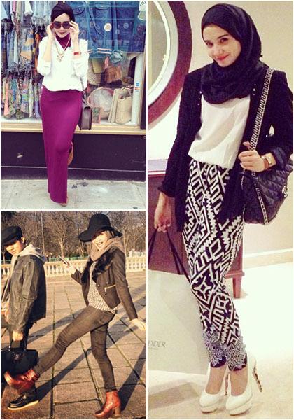 Hijab Style Gaya Hijab Stylish Ala Zaskia Sungkar