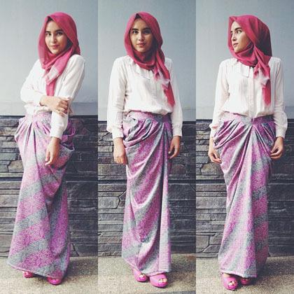 Hijab Style Gaya Hijab Simple Si Cantik Zahratul Jannah 4