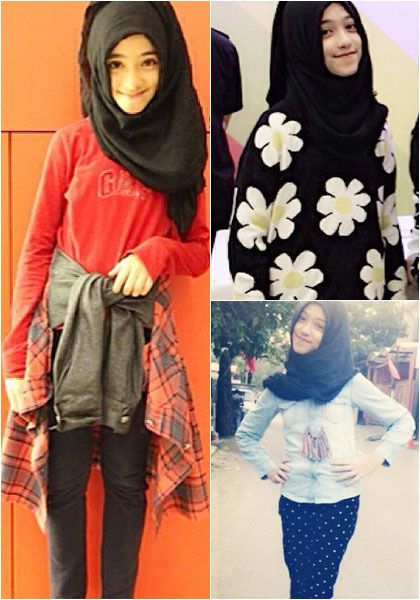 Hijab Style Gaya Stylish Shireeenz Remaja Yang Populer