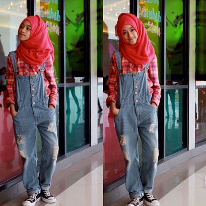 Hijab Style Gaya Stylish Shireeenz Remaja Yang Populer Di Instagram 2