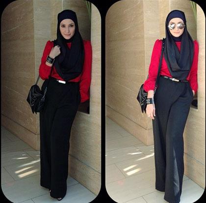 Hijab Style: Gaya Cantik dan Elegan Inneke Koesherawati - 5