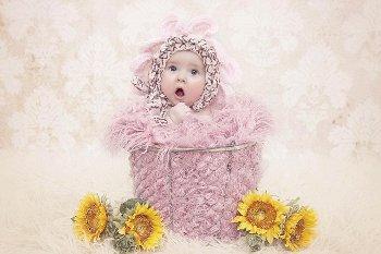 Ketika Bayi-bayi Mungil Pose Menggemaskan di Depan Kamera