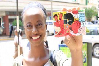 Ketika Kondom Warna-warni Dibagikan di Kenya