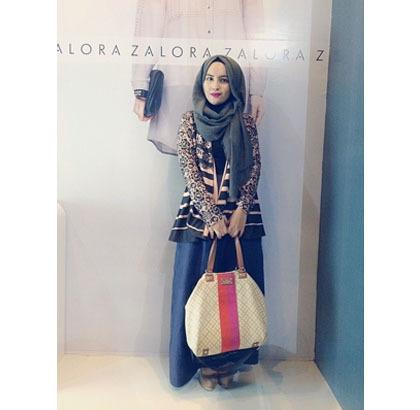 Hijab Style Gaya Zaskia Sungkar 6 Hijabers Lainnya Di Hijab Day 2014 7