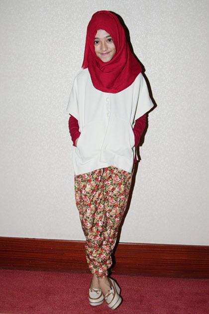 Hijab Style Lucunya Gaya Busana 5 Hijabers Cilik Yang Populer Di Instagram 2